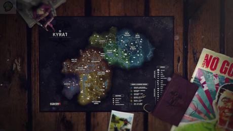 Far Cry 4 : La carte dévoilée
