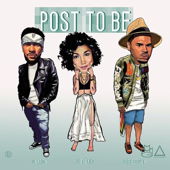 NEW MUSIC : OMARION feat CHRIS BROWN & JHENÉ AIKO – « POST TO BE »