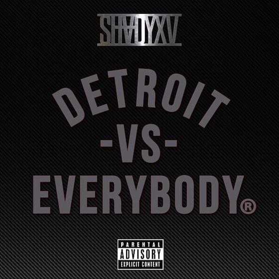 NEW MUSIC : EMINEM feat ROYCE DA 5'9″, BIG SEAN, DANNY BROWN, DEJ LOAF, & TRICK TRICK – « DETROIT VS. EVERYBODY »