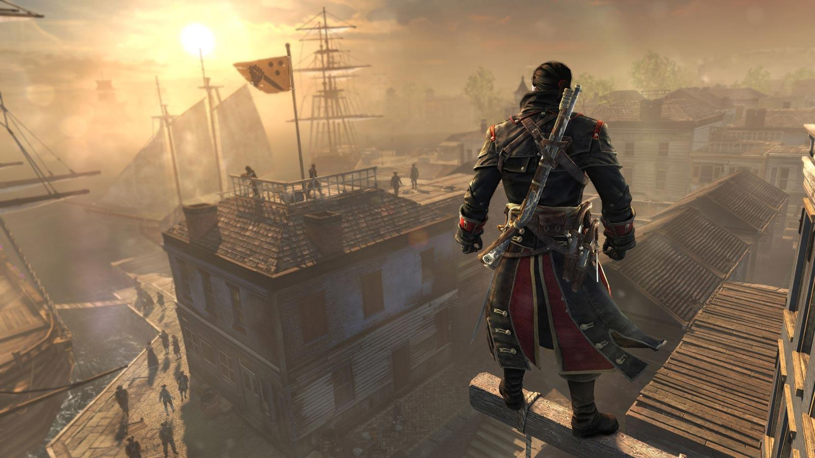 Un aperçu du jeu Assassin's Creed Rogue.