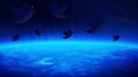 Twitter, part à  la conquête de l'espace !