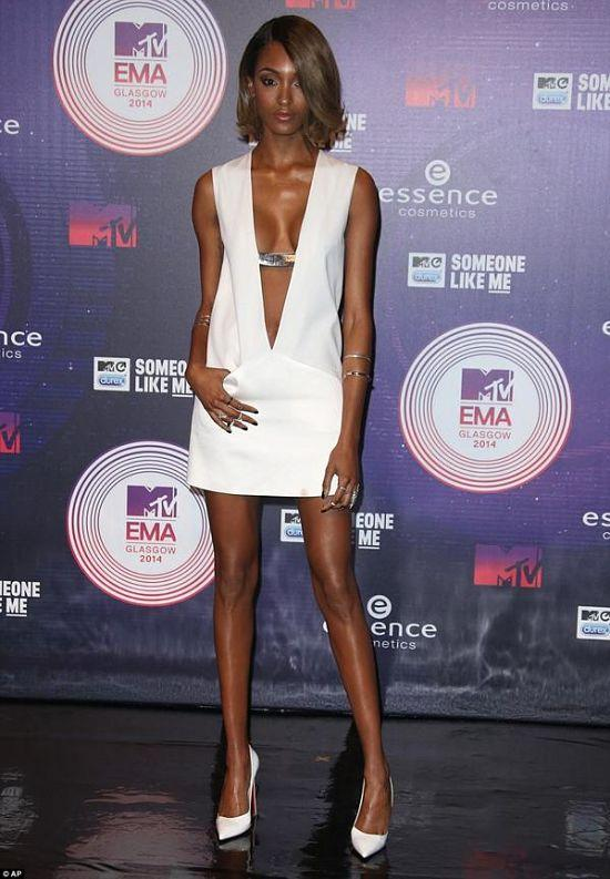 Jordan Dunn aux MTV European Music Awards 2014