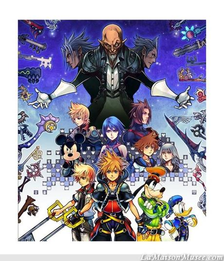 Boite Standard Kingdom Hearts ReMIX