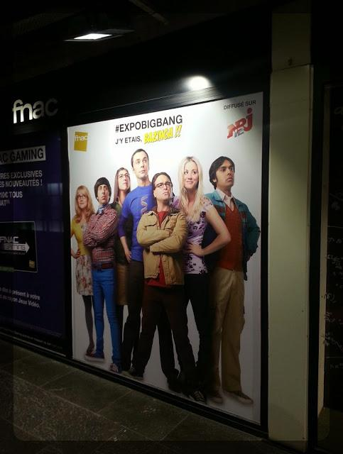 The Big Bang Theory, l'exposition débarque en France, à la Fnac Forum des Halles