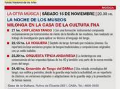 Grande milonga avec musiciens Fondo Nacional Artes l'affiche]