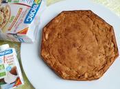 moelleux hyperprotéiné poire, noix coco, raisins secs avec flocons d'avoine graines (sans sucre sans beurre)