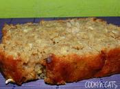 CAKE BANANE AVOINE sans lait, gluten, sucre raffiné