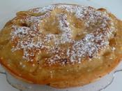 Gâteau pommes poêle