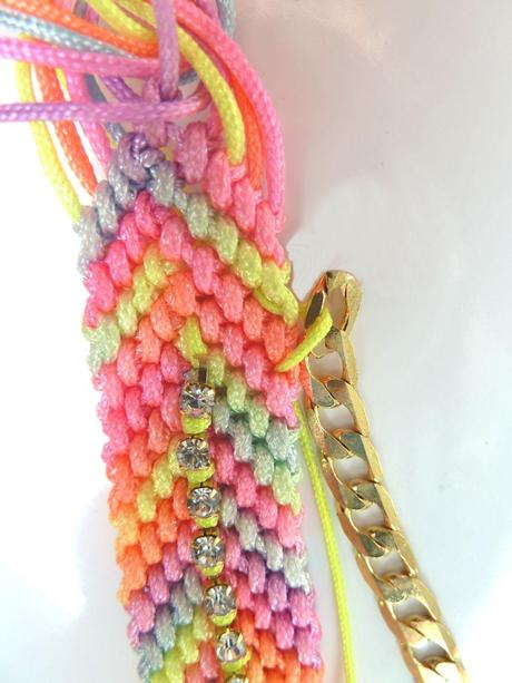 TUTO / DIY Bracelet Copacabana
