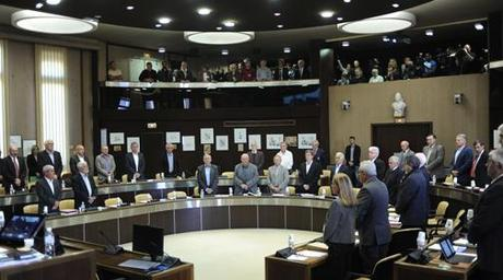 Minute de silence pour Rémi Fraisse au conseil général du Tarn, vendredi dernier