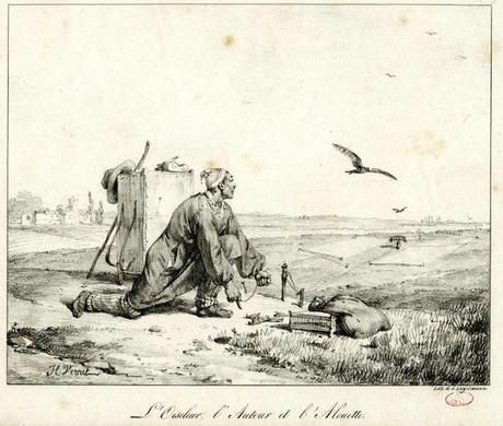 LOiseleur lAutour et lAlouette Horace Vernet