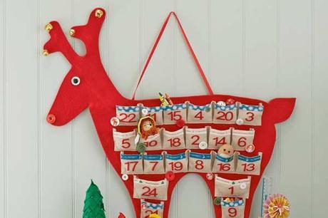 calendrier avent renne 10 calendriers de lAvent à coudre