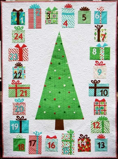 calendrier avent sapin patchwork 10 calendriers de lAvent à coudre