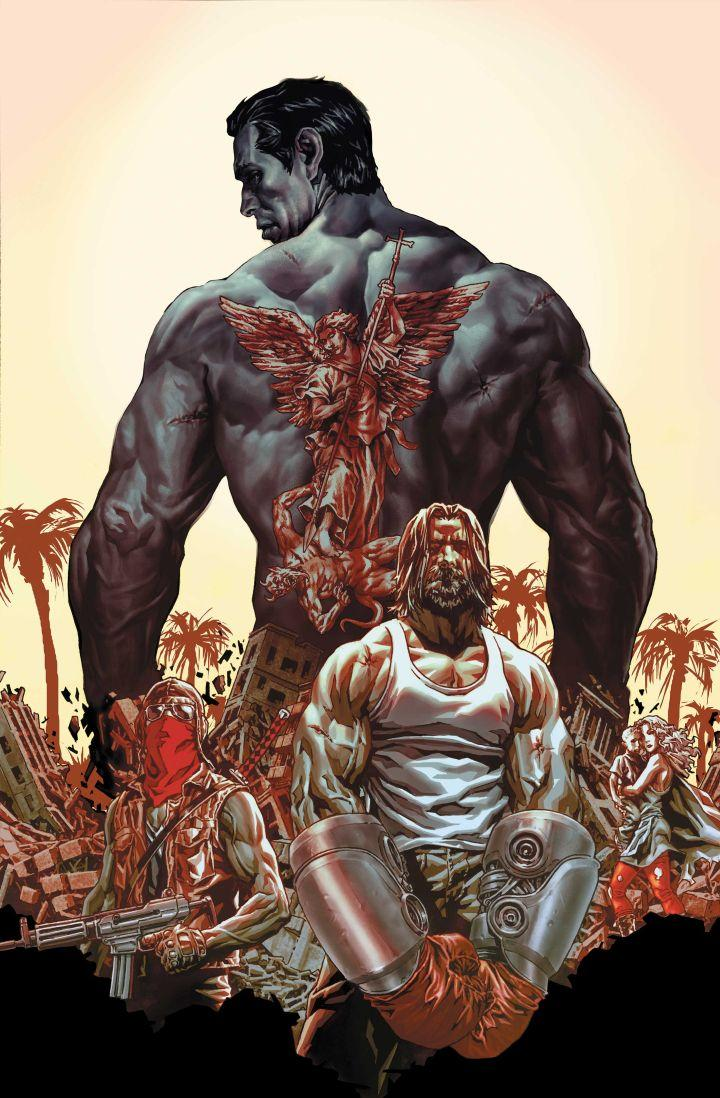 suiciders cover1 lee bermejo SUICIDERS : le nouveau comic book de Lee Bermejo arrivera en février 2015 !