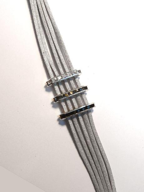 TUTO / DIY Bracelet Réveillon Art Déco