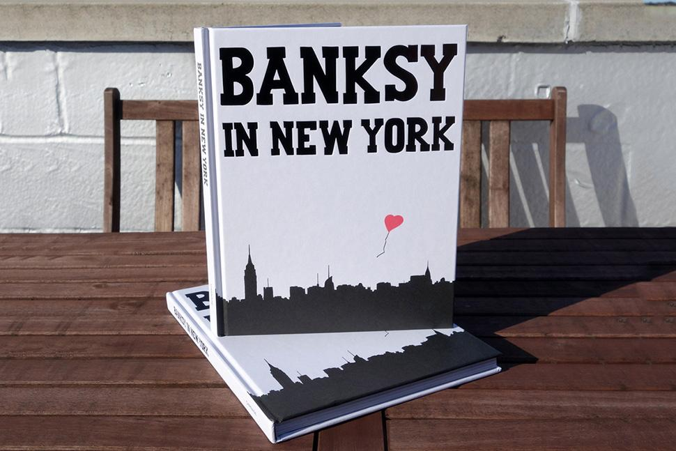 BANKSY IN NEW YORK – BOOK RELEASE