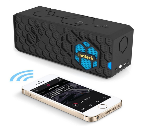 enceinte bluetooth portable inateck iphone