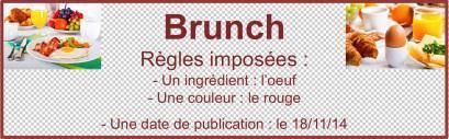 Œufs cocotte aux tomates et poivron rouge {Foodista Challenge #3}