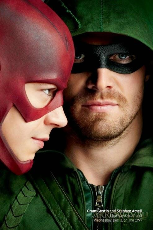 Des premières images du cross-over entre Arrow et The Flash !