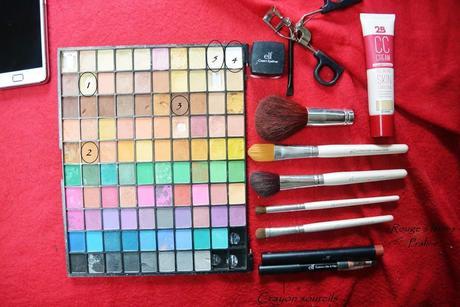 Petit maquillage du jour :), qu'en pensez-vous? (1)