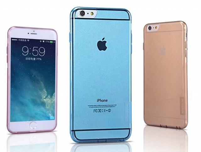 Coques de protection flexibles Nillkin ultra fines pour iPhone 6 et iPhone 6 Plus