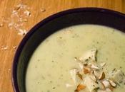 Soupe courgette Fourme d'Ambert avec companion.