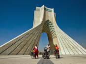 Iran trois vélo Téhéran Tabriz