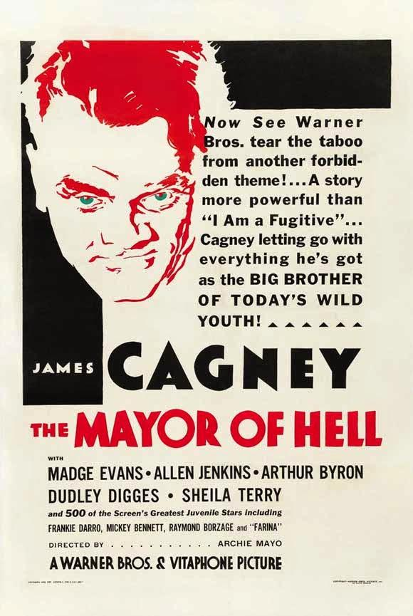Le Bataillon des sans-amours -The Mayor of Hell, Archie Mayo (1933)