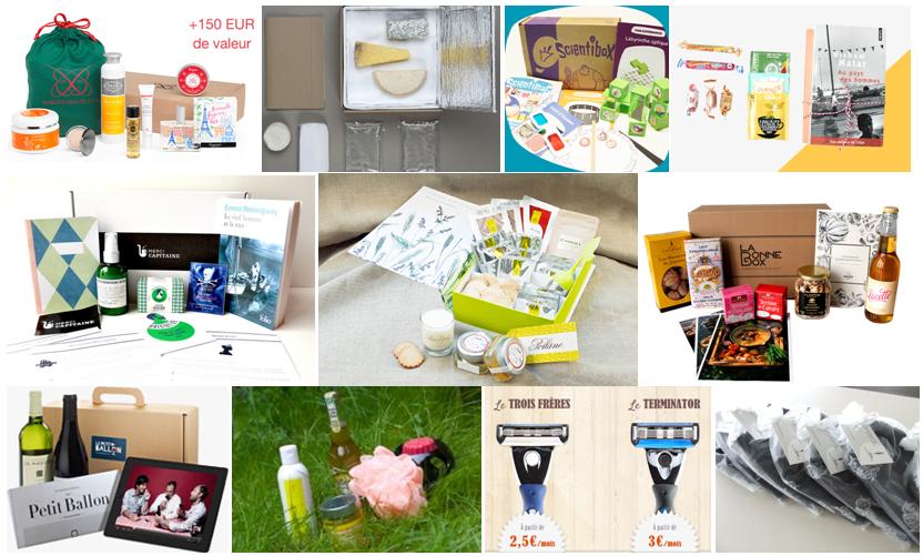 Idées cadeaux pour Noël : les box | À Découvrir