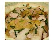 Tartelettes quenelles veau, pommes fondantes foie gras