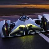 Chevrolet Chaparral 2X Vision Gran Turismo: quelque chose de spatial