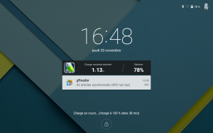 Android Lollipop : ça donne quoi?   lock screen 300x187