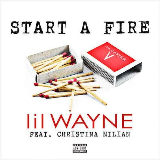 NEW MUSIC: LIL WAYNE feat CHRISTINA MILIAN – « START A FIRE »