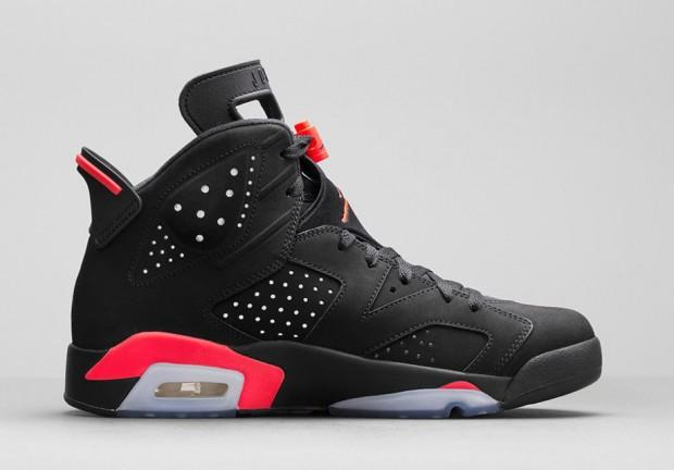 Air Jordan 6 Black/Infrared pour Femme