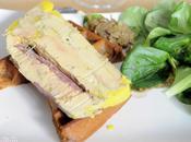 Foie gras magret fumé confiture d'oignons