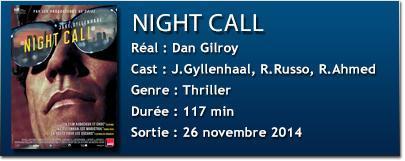 fich tech night call [CINÉMA] Notre avis sur Night Call