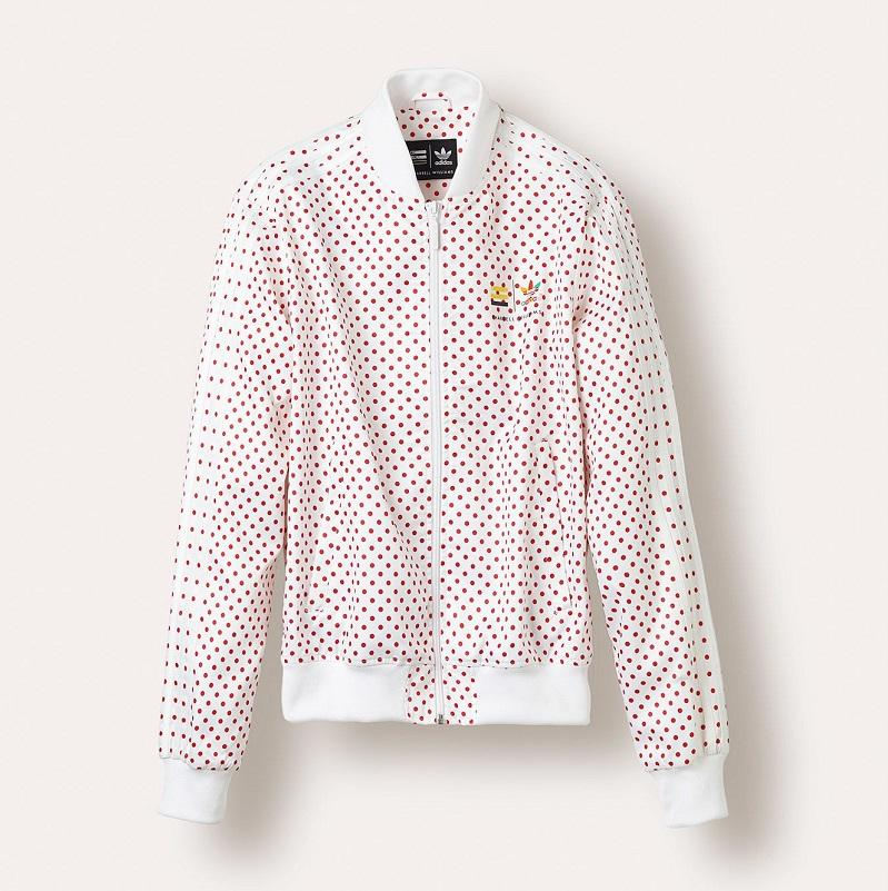 photo adidas originals pharrell williams polka dot