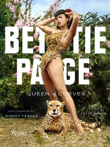 livre Bettie Page queen of curves