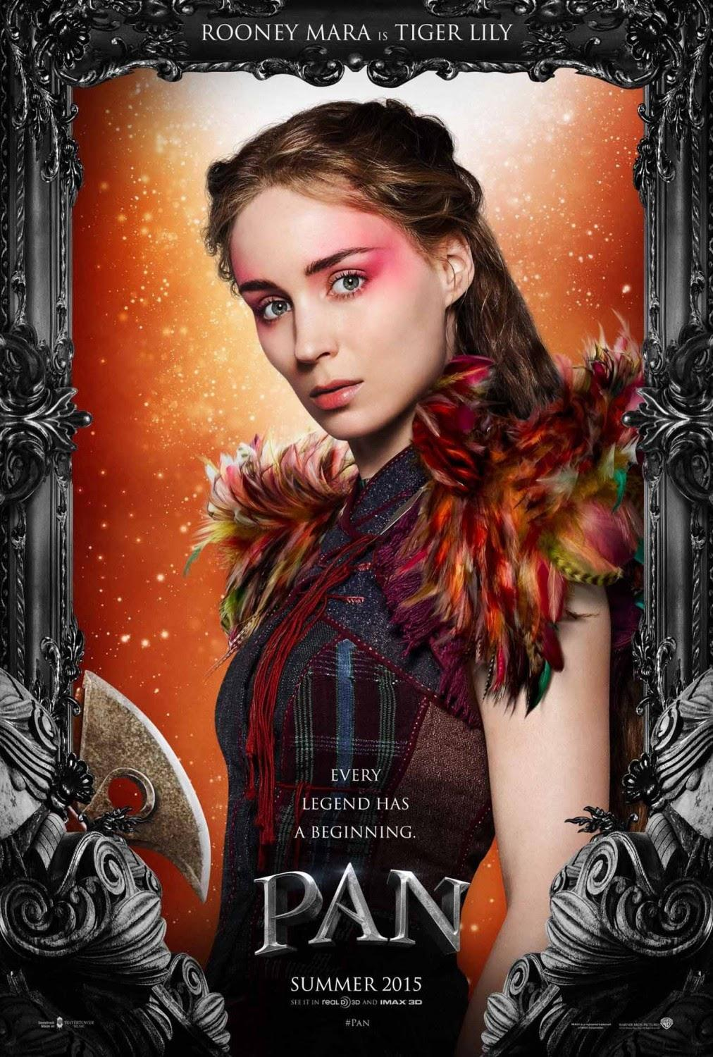Pan Official Character Poster d JPosters [News/Trailer] Pan : le trailer des origines de Peter !