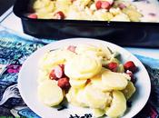 Gratin pommes terre knaki & fromage fines herbes