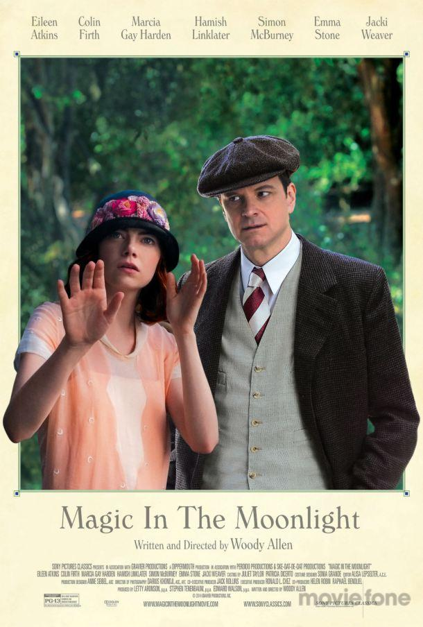 Magic in the Moonlight Woody Allen Colin Firth poster