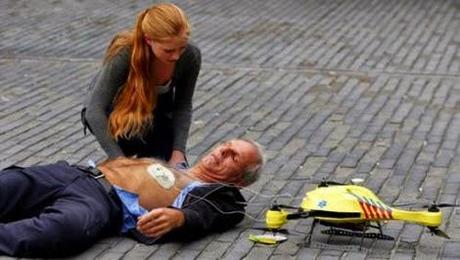 Coup de coeur : le drone-ambulance (vidéo)