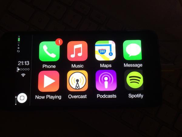 CarPlay sur iPhone 6 Plus