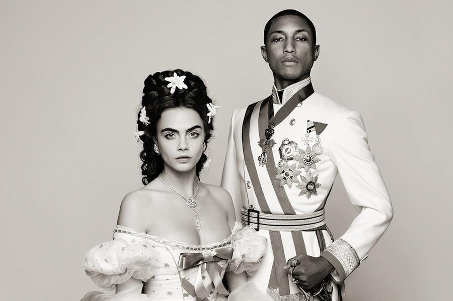 Cara-Delevingne-et-Pharrell-Williams-superstars-d-Autriche-pour-Chanel