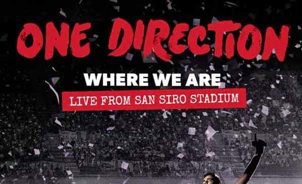 One Direction : le DVD de la tournée des stades disponible