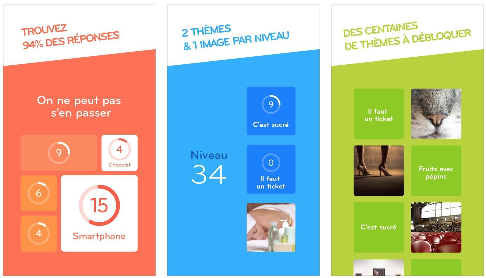94 Solutions Et Réponses Des Niveaux Du Jeu Pour Iphone