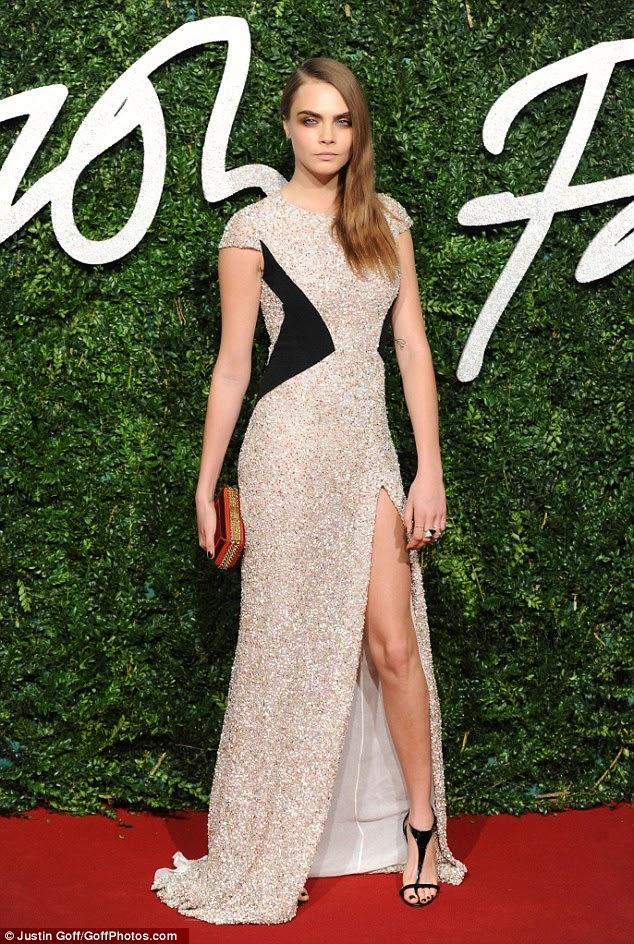 Les plus beaux look du red carpet des British Fashion Awards...