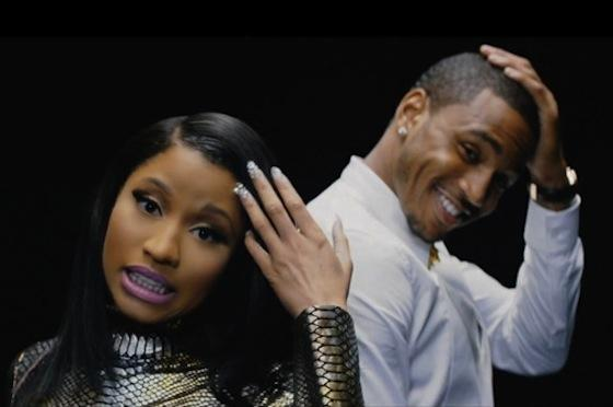 HOT!!! NEW MUSIC VIDEO: TREY SONGZ feat NICKI MINAJ – « TOUCHIN, LOVIN »