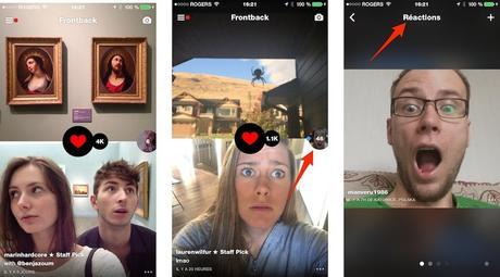 frontback selfie commentaires iPhone 2014 : mon top 10 des applications gratuites