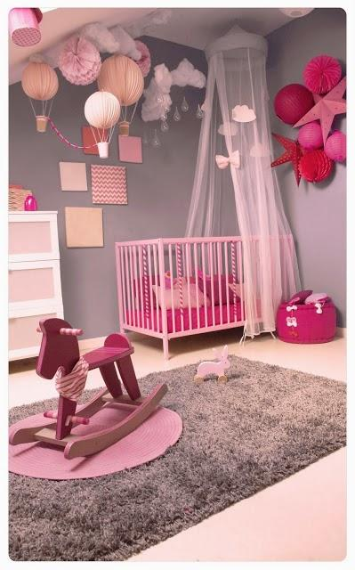 chambre fille rose pastel d couvrir. Black Bedroom Furniture Sets. Home Design Ideas